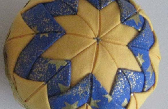 patchworková koule