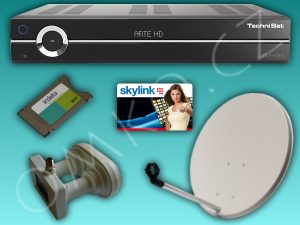 satelitní technika