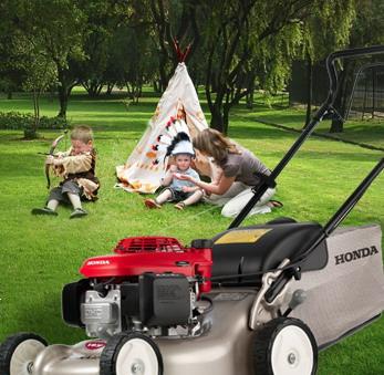 zahradní technika Honda