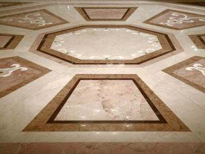 mozaika intarzie z mramoru