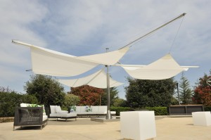 sluneční plachty Correli
