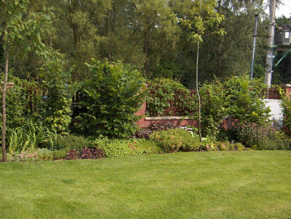 okrasné zahrady Bula