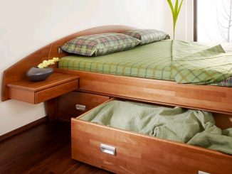 postel masiv