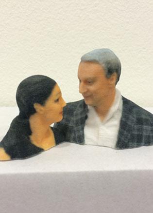 3D figurka busta