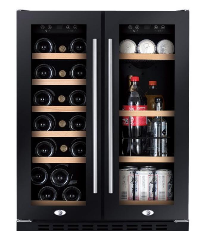 lednice na víno Humibox Duo BU38