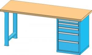pracovní stůl do dílny