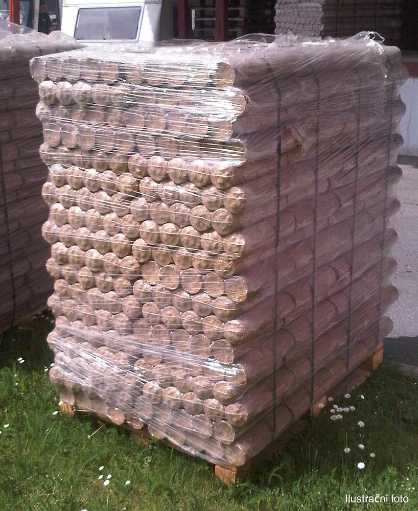 dřevěné ekobrikety