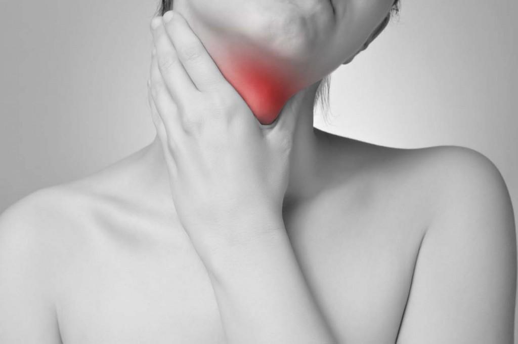 bolest v krku